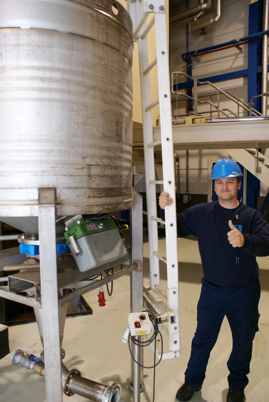 Geen brugvorming meer in silo's - Oplossing van Stiletto Triltechniek